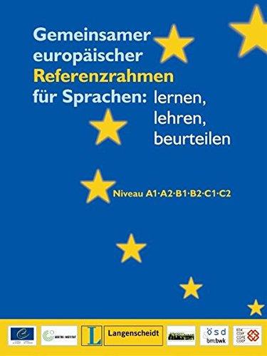 Gemeinsamer Europaischer Referenzrahmen Fur Sprachen par Langenscheidt