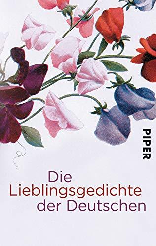 Die Lieblingsgedichte der Deutschen.
