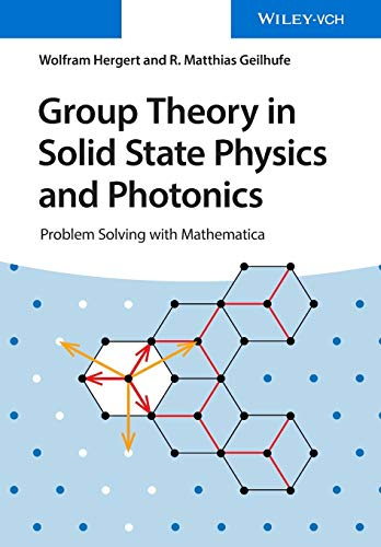 Group Theory in Solid State Physics and Photonics By Wolfram Hergert
