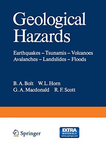 Geological Hazards By B. A. Bolt