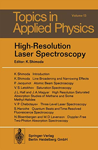 High-Resolution Laser Spectroscopy By K. Shimoda