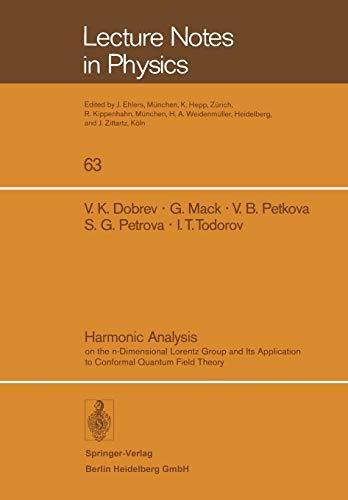 Harmonic Analysis By V. K. Dobrev
