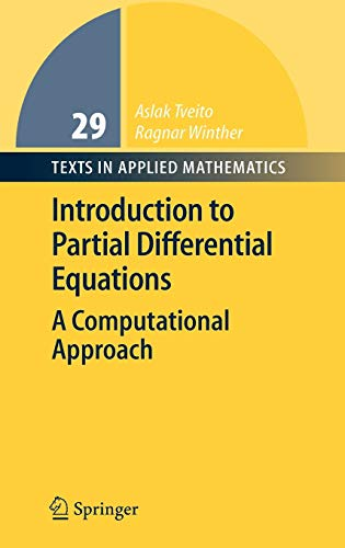Introduction to Partial Differential Equations By Aslak Tveito