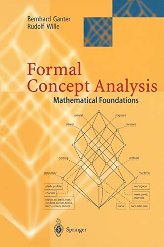 Formal Concept Analysis By Bernhard Ganter