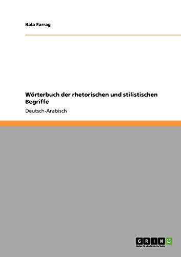 Woerterbuch der rhetorischen und stilistischen Begriffe By Hala Farrag
