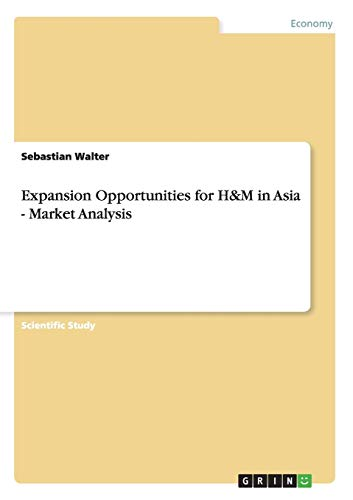 Expansion Opportunities for H&M in Asia - Market Analysis By Sebastian Walter