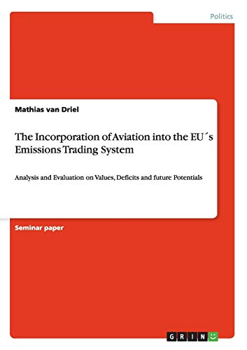 The Incorporation of Aviation into the EUs Emissions Trading System By Mathias Van Driel