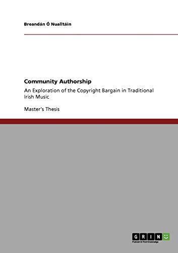Community Authorship By Breandan O Nualltain
