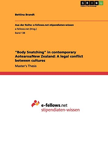 Body Snatching in contemporary Aotearoa/New Zealand By Bettina Brandt