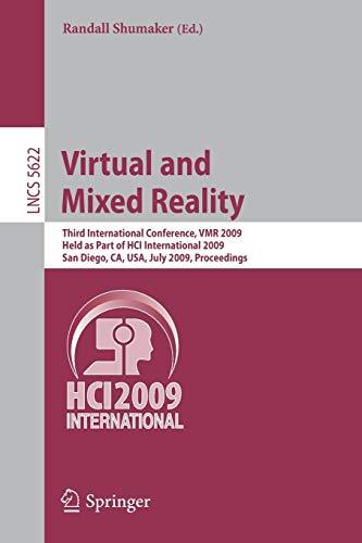 Virtual and Mixed Reality By Randall Shumaker