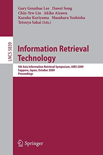 Information Retrieval Technology By Dawei Song
