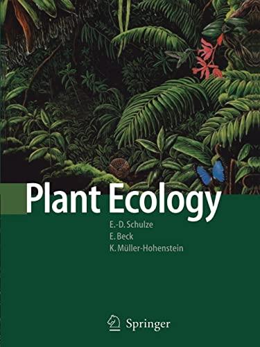 Plant Ecology By Ernst-Detlef Schulze