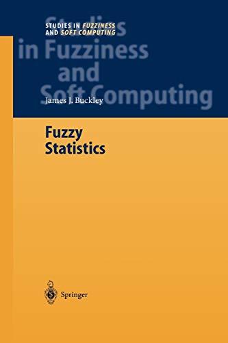 Fuzzy Statistics By James J. Buckley