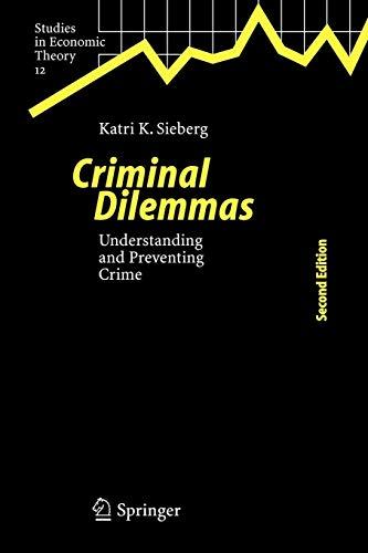 Criminal Dilemmas By Katri K. Sieberg