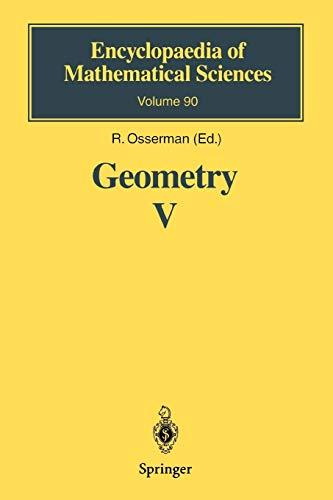 Geometry V By H. Fujimoto