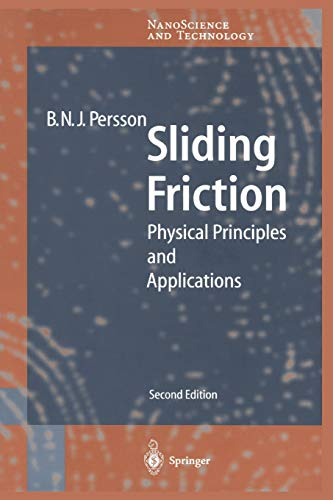 Sliding Friction By Bo N.J. Persson