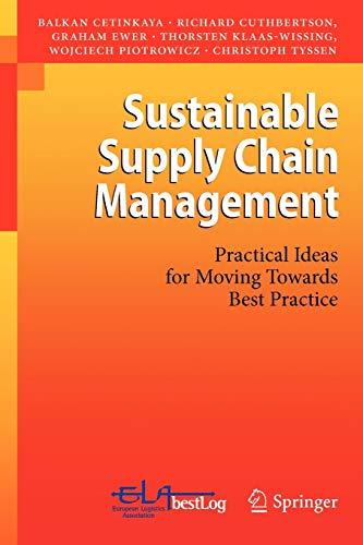 Sustainable Supply Chain Management By Balkan Cetinkaya