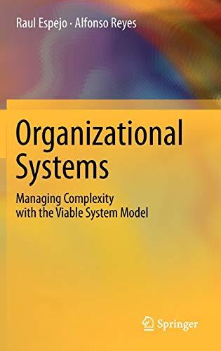 Organizational Systems By Raul Espejo