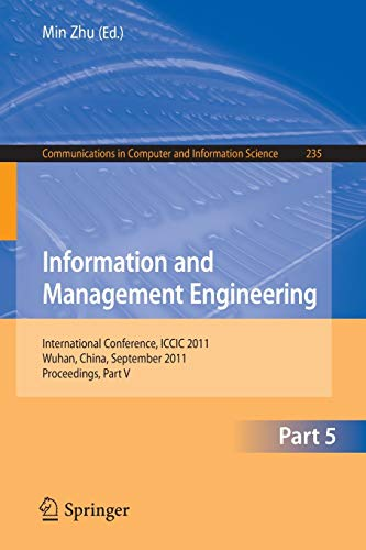 Information and Management Engineering By Min Zhu