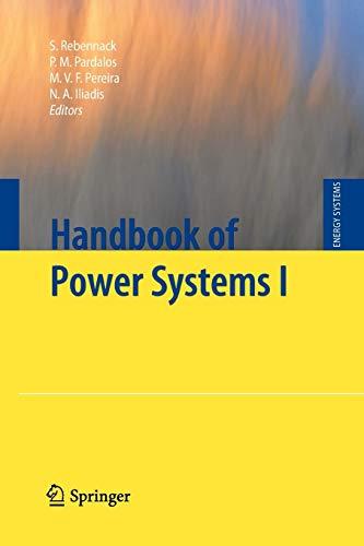 Handbook of Power Systems I By Steffen Rebennack