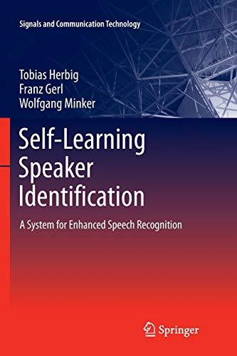 Self-Learning Speaker Identification By Tobias Herbig