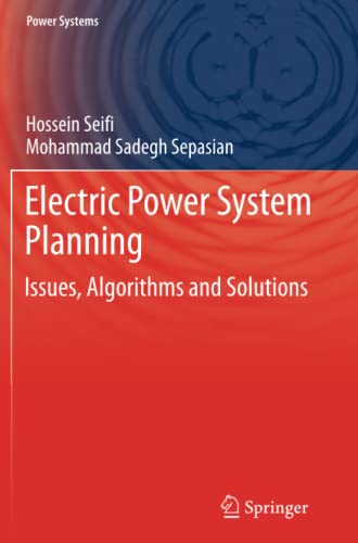 Electric Power System Planning By Hossein Seifi