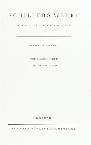 Schillers Werke. Nationalausgabe By Norbert Oellers