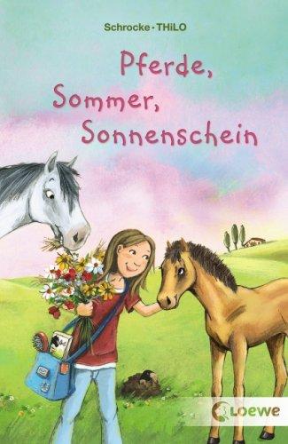 Pferde, Sommer, Sonnenschein By Thilo