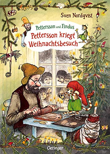 Pettersson kriegt Weihnachtsbesuch von Sven Nordqvist