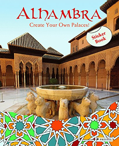 Alhambra: Create Your Own Palaces! Sticker Book By Maria Krause