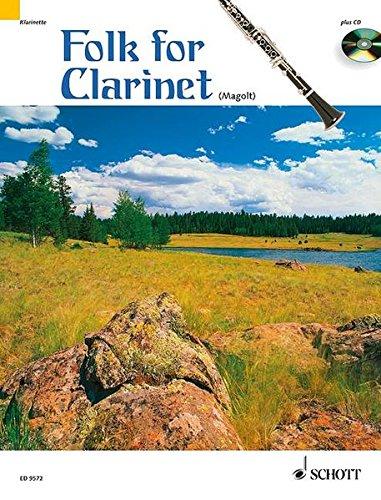 Folk for Clarinet By Marianne Magolt