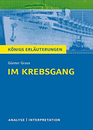 Im Krebsgang von Günter Grass.: Textanalyse und