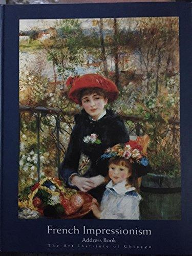 French Impressionism Address Book