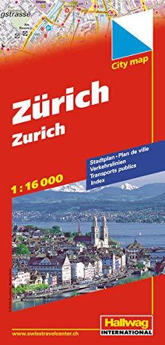 Zurich Citymap By Hallwag