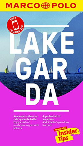 Lake Garda Marco Polo Pocket Travel Guide - with pull out map By Marco Polo