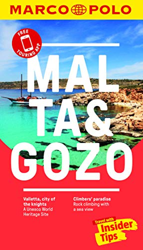 Malta and Gozo Marco Polo Pocket Travel Guide - with pull out map By Marco Polo