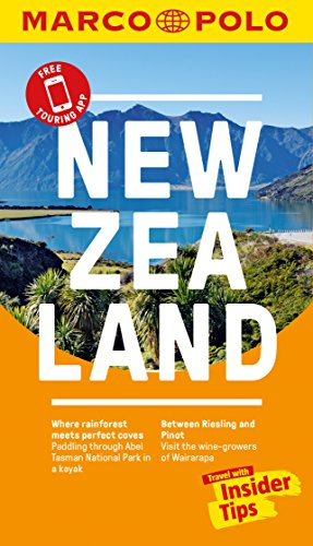 New Zealand Marco Polo Pocket Travel Guide - with pull out map By Marco Polo