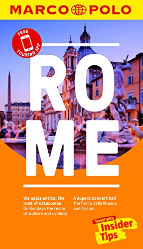 Rome Marco Polo Pocket Travel Guide - with pull out map By Marco Polo