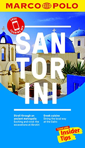 Santorini Marco Polo Pocket Guide 2018 - with pull out map (Marco Polo Guides) By Marco Polo
