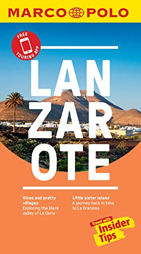 Lanzarote Marco Polo Pocket Travel Guide 2018 - with pull out map (Marco Polo Guides) (Marco Polo Pocket Guides) By Marco Polo