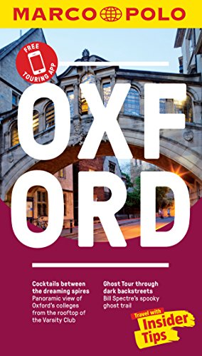 Oxford Marco Polo Pocket Travel Guide - with pull out map By Marco Polo