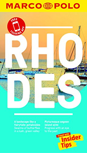 Rhodes Marco Polo Pocket Travel Guide - with pull out map By Marco Polo