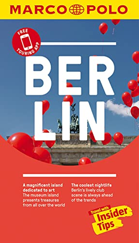 Berlin Marco Polo Pocket Travel Guide - with pull out map By Marco Polo