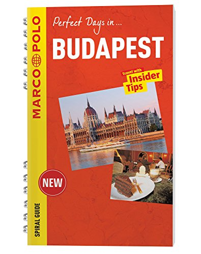 Budapest Marco Polo Travel Guide - with pull out map By Marco Polo