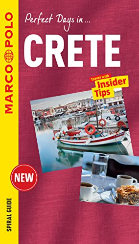 Crete Marco Polo Travel Guide - with pull out map By Marco Polo