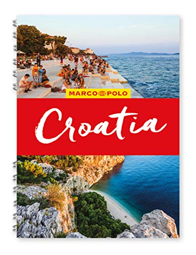Croatia Marco Polo Travel Guide - with pull out map By Marco Polo