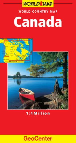 Canada GeoCenter World Map By Mairs