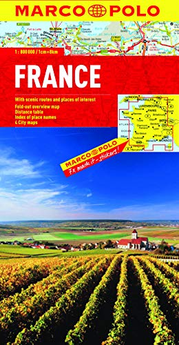 France Marco Polo Map By Marco Polo