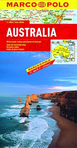 Australia Marco Polo Map By Marco Polo