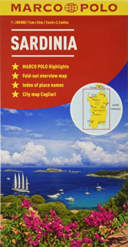Sardinia Marco Polo Maps By Marco Polo